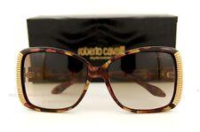 Brand New Roberto Cavalli Sunglasses RC 656 656S 47F Gold Havana For Women