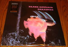 BLACK SABBATH PARANOID 180 GRAM VINYL LP  STILL FACTORY SEALED !