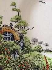 Melba Vintage Tea Set Country Cottage Flowers Art Deco Square Plates 28 Pcs