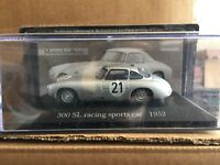"""DIE CAST """" 300 SL RACING SPORT CAR 1952 """" MERCEDES COLLECTION SCALA 1/43"""