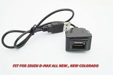 usb audio cable fit for Isuzu All New D-MAX panel socket size 2.1 x 3.1 cm