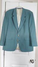 Hart Schaffner Marx Jack Nicklaus Light Green Blazer USA Sport Coat Jacket 48R