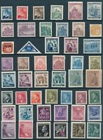 Lot Stamp Germany Bohemia Czech WWII 3rd Reich Occupation Collection MNH
