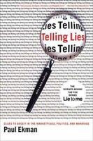 TELLING LIES - EKMAN, PAUL - NEW PAPERBACK BOOK