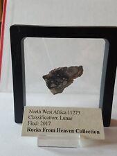 NWA 11273 Lunar Meteorite slice 6.45 grams