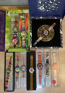 NEVER WORN - Swatch collection of Vintage watches