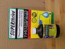 SUPERthrive Plant Growth Supplement Vitamin Fertilizer Garden Hydroponics 4 oz