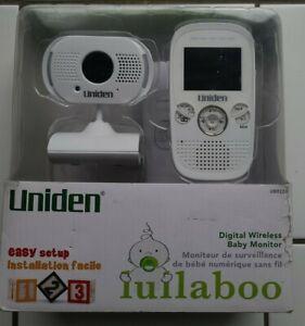 Uniden Digital Wireless Baby Monitor Night Vision  , Night Light & Audio