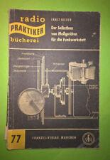 Livre Buch Radio Praktiker N°77 Der Selbstbau von Messgeräten für die Funkwerkst