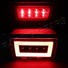 F1 STYLE LED DRL RED & CLEAR REAR THIRD BRAKE LIGHT FIT 11-18 SUBARU IMPREZA WRX