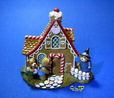 Vintage WEE FOREST FOLK  :  HANSEL & GRETEL at the WITCH'S HOUSE ... Signed!