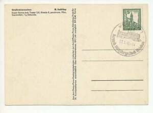 SBZ Nr. 152 Y mit SST MEISSEN 7.5.46 auf Blankokarte (55917)
