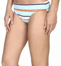 21062eeb56f68 Tommy Bahama 1124 TB Rugby Stripe Wide-Band Hipster Bikini Bottom L