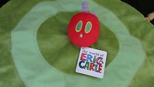 Eric Carle plush Hungry Caterpillar baby security blanket rattle NEW lovey toy
