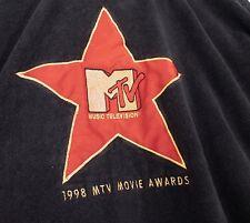 1998 MTV Movie Awards Star Black MA Monogrammed Terry Cloth Robe One Size