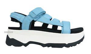 Teva Zamora Blue Bell Platform Sandals Womens Size 11 *NIB*