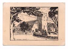 Cumbria - Grasmere, The Church - Postcard Franked 1944