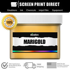 Ecotex Marigold Premium Plastisol Ink For Screen Printing All Sizes