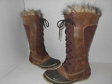 """SOREL"" Women's Sz 7 ""CATE THE GREAT"" ""Tobacco Brown"" Boots-  $129.99"