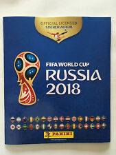ALBUM PANINI WORLD CUP COUPE 2018 RUSSIA RUSSIE VIDE STICKERS MINT FRENCH FREE