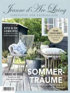 Jeanne d'Arc Living Magazin Zeitschrift 05 2021 Vintage Brocante Shabby Chic