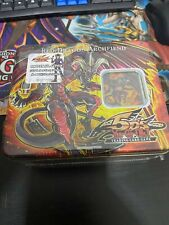RED DRAGON ARCHFIEND COLLECTIBLE TIN 2008 WAVE 1 YUGIOH 5DS *FACTORY SEALED*