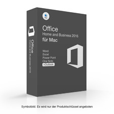 Microsoft Office 2016 Home & Business für MAC online aktivierbar MS HB Apple