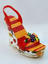 Just The Right Shoe Tutti Fruity Coin Shoe! New! Rare
