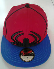 New Era 59Fifty Spiderman Big/Under Red Fitted Hat-New Old Stock - 7 -  2009