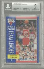 1991-92 Fleer #375 Michael Jordan BGS 9 9.5 9.5 9 9 MINT Chicago Bulls 9