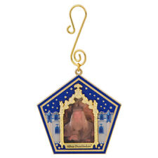 Harry Potter Holiday Ornament - Chocolate Frog Wizard Card Albus Dumbledore