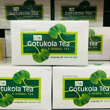 Gotu Kola Herbal Tea 100% Organic Centella Asiatica 25 Tea bags