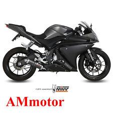 Impianto Completo Mivv Yamaha Yzf R125 2015 15 Scarico Gp Carbonio Moto