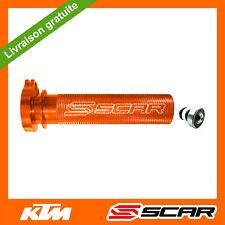 TUBE GAZ ACCELERATEUR ALU ROULEMENT KTM EXCF EXC-F 250 350 450 500 00-16 ORANGE