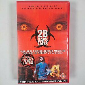 28 Days Later - Big Box Pre/Post Cert Ex-Rental VHS PAL 2003 20th Century Fox