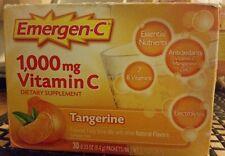 3x Emergen-C, Tangerine, 30 Count (Total 90 count) 6/17+