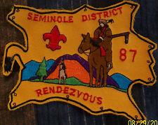Boy Scout Seminole District 87 Rendezvous