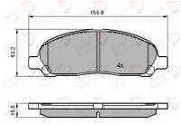 Allied Nippon Front Brake Pad Set ADB01606  - BRAND NEW - 5 YEAR WARRANTY