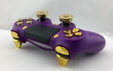 Official Sony PS4 V2 Pro Slim Wireless Controller Custom Purple Phantom BULLET