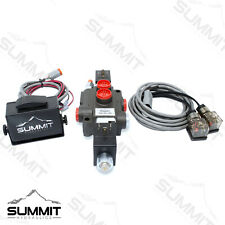 Hydraulic Monoblock Directional Solenoid Control Valve 1 Spool 13 Gpm With Switch