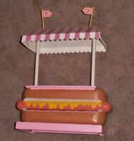 Vintage,  Barbie doll ........ Hot Dog Stand........GROOVEY