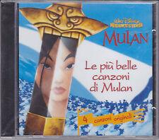 CD ♫ Compact disc «WALT DISNEY CLASSICI ♥ LE PIU' BELLE CANZONI» nuovo sigillato