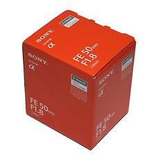 Sony FE 50mm F1.8 Black Lens 50 F/1.8 SEL50F18F for E-Mount Full Frame Camera