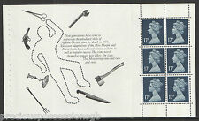 (AC4) gb QEII timbres agatha christie prestige booklet pane ex DX12 1991