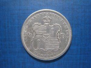 Hawaii 1/2 Dollar 1883. Nice Grade.