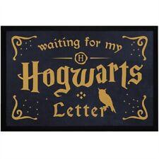 Fußmatte mit Spruch Waiting for my Hogwarts Letter Eule Fantasy Film rutschfest