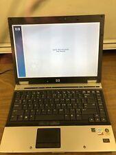 """HP ELITEBOOK 6930P LAPTOP CORE 2 DUO 2GB RAM 14"""" DISPLAY -  BIOS LOCKED"""