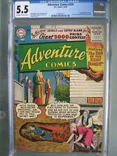 Adventure Comics #229 CGC 5.5 DC 1956 1st app Topo