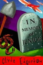 In Memory of Junior by Clyde Edgerton (1996, Paperback)