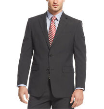 Jones New York Men's 42R Black Mini-Striped Classic Fit Jacket Blazer